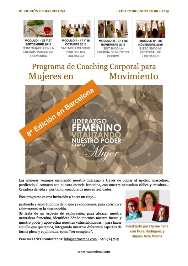 Flyer 8ª edición LF Barcelona