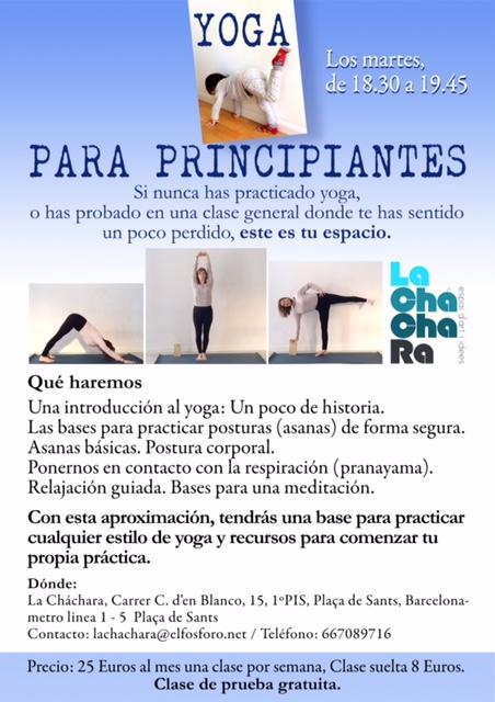 Poster Yoga MERC.