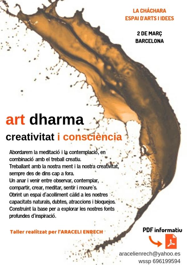 Cartell art dharma